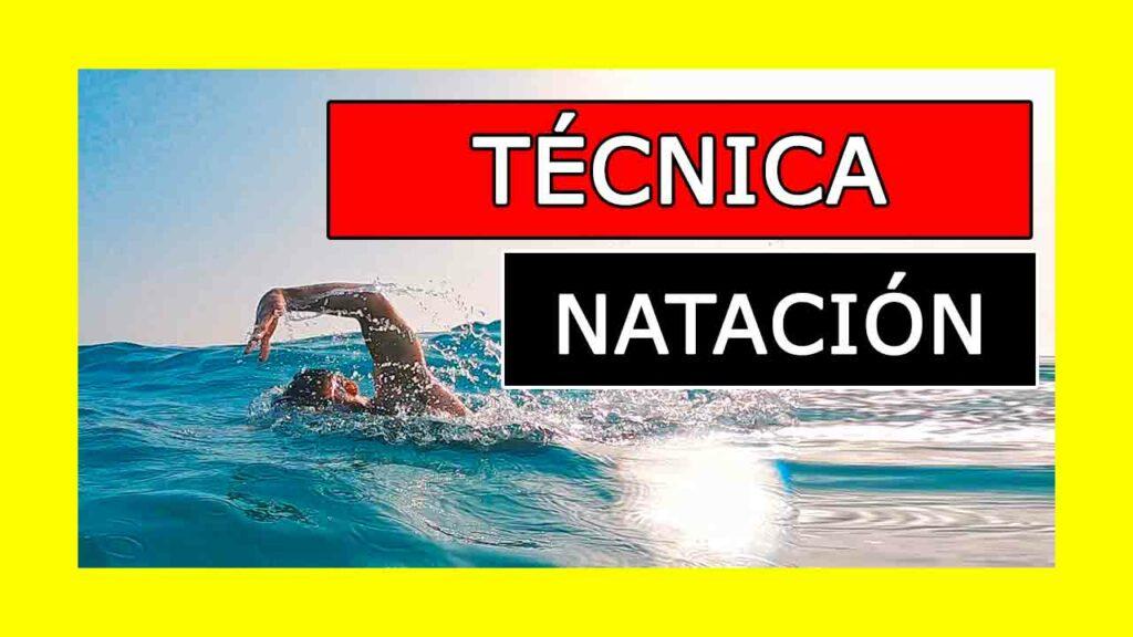 Tips tecnica natacion y triatlon