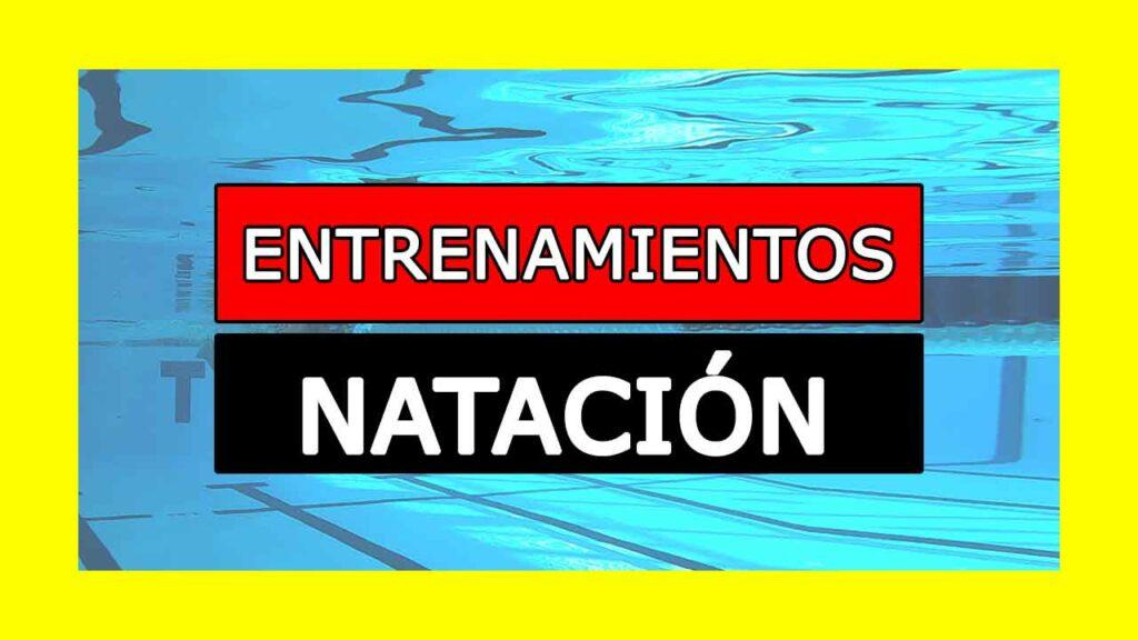 ENTRENAMIENTOS DE NATACION PDF