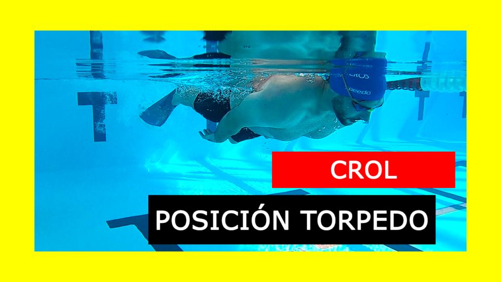 Ejercicio Torpedo Crol Natación